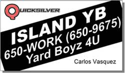 Quicksilver Island YB Yard Maintenance